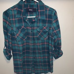Size large plaid shirt